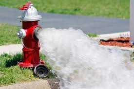 fire hydrant flushing